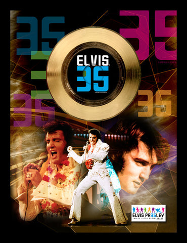 35th Anniversary Gold Single - Elvis Presley