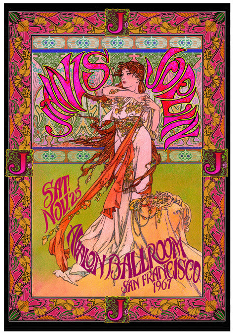 Janis Joplin at the Avalon Ballroom - Bob Masse