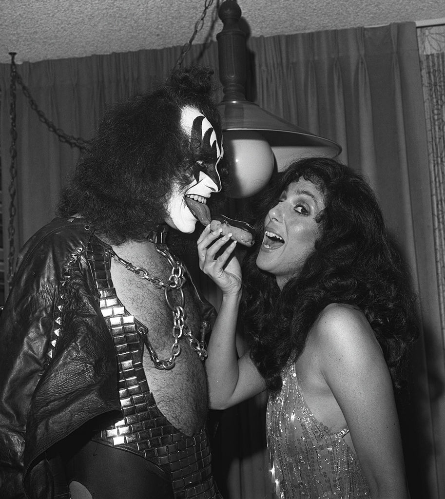 Gene Simmons & Cher with an Eclair - James Fortune