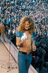 Robert Plant with Dove - James Fortune