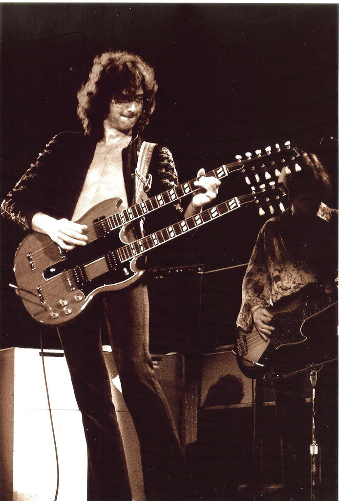 Jimmy Page Double Neck Guitar - James Fortune