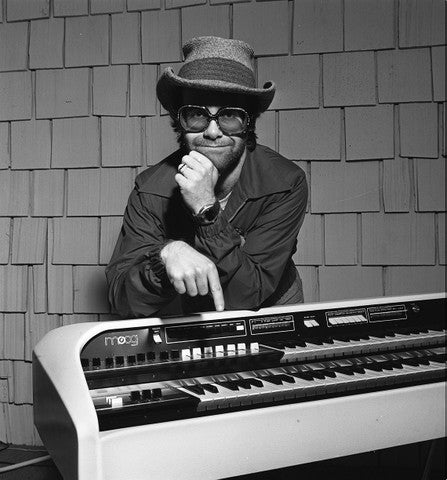 Elton John with Moog - James Fortune