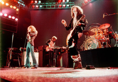 Led Zeppelin Live (color) - Jame Fortune