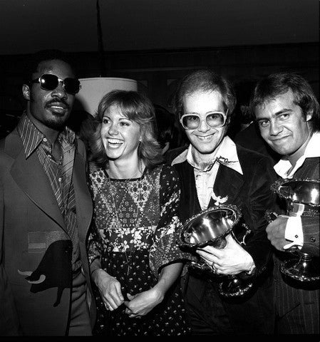 Elton & Bernie with Olivia & Stevie - James Fortune