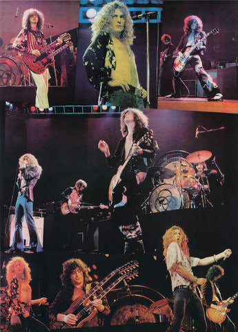 Led Zeppelin Photo Collage - James Fortune – Rock Art Show