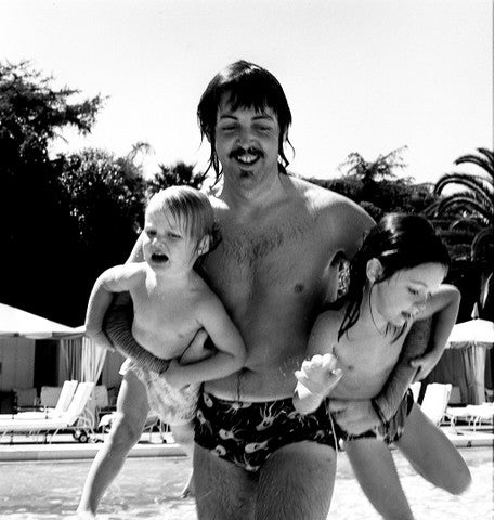 Paul McCartney with Kids - James Fortune