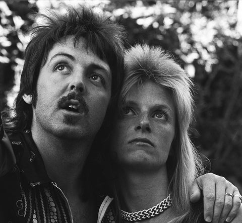 Paul & Linda McCartney 1975 - James Fortune