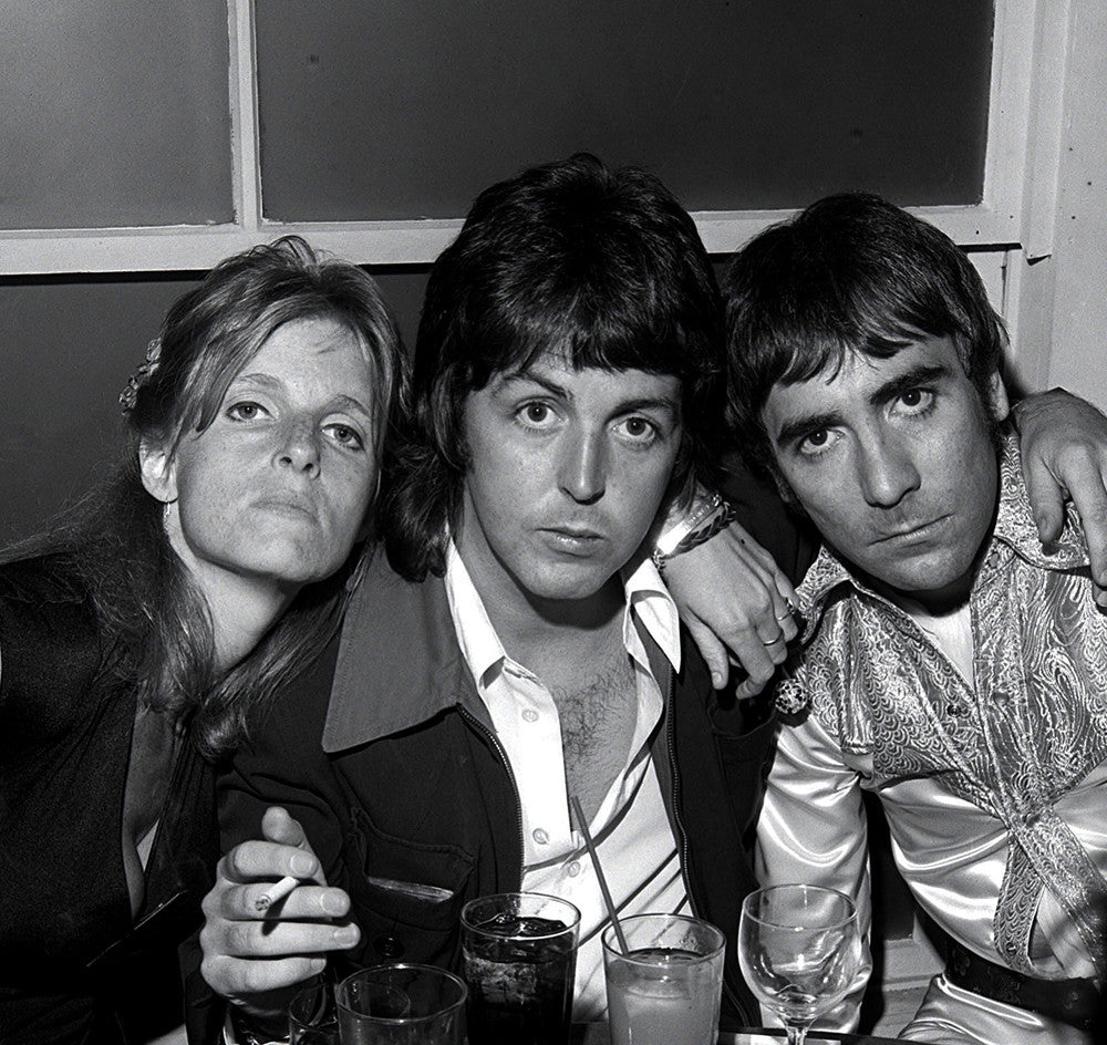 Paul & Linda McCartney with Keith Moon - James Fortune
