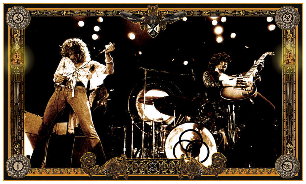 Led Zeppelin 1973 Collaboration - James Fortune & Scotty C