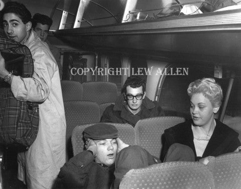 Buddy Holly on the Bus - Lew Allen