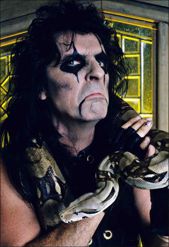 Alice Cooper 1986 (color) - Mark Weiss