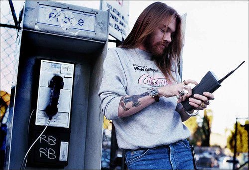 Axl Rose (Guns N' Roses) - Mark Weiss