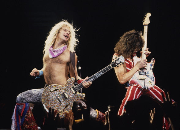Eddie Van Halen & David Lee Roth - Mark Weiss
