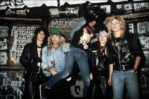 Guns N' Roses 1987 - Mark Weiss