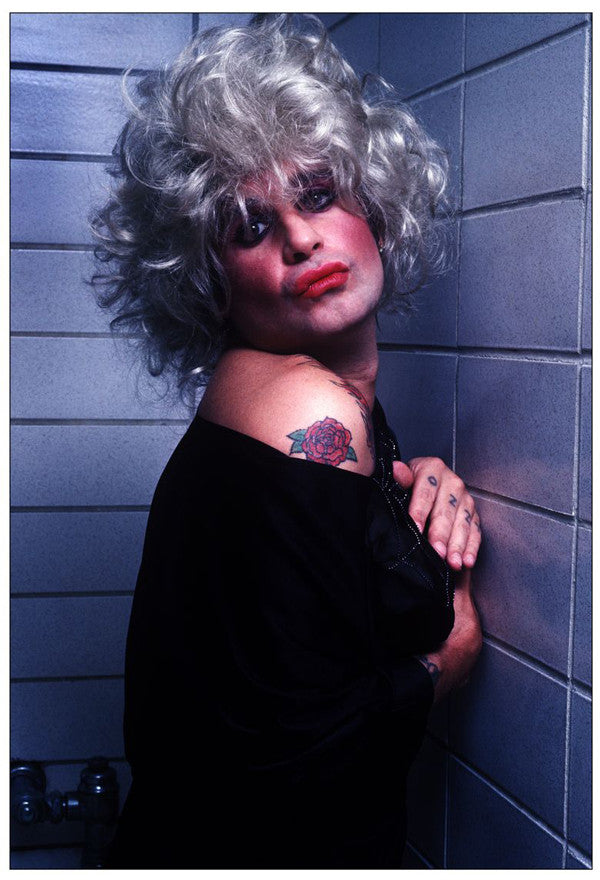 Ozzy in Drag 1984 - Mark Weiss