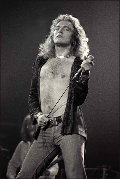Robert Plant 1977 - Mark Weiss