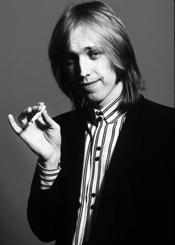 Tom Petty B&W Portrait - Mark Weiss
