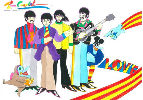 Yellow Submarine Beatles with Jeremy & The Glove - Ron Campbell