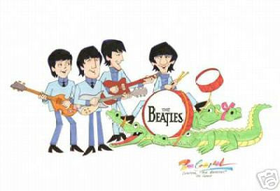 TV Beatles with Alligators - Ron Campbell
