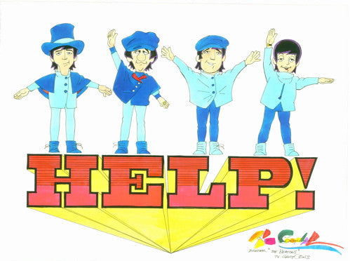 TV Beatles Help! - Ron Cambell