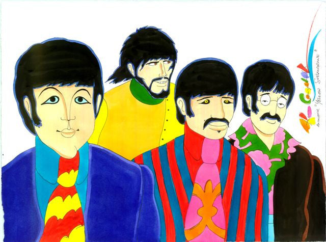 Beatles Yellow Submarine Waist Shot - Ron Campbell