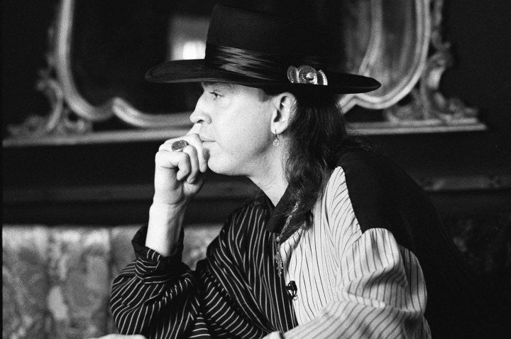 Stevie Ray Vaughan Portrait - Rich Saputo
