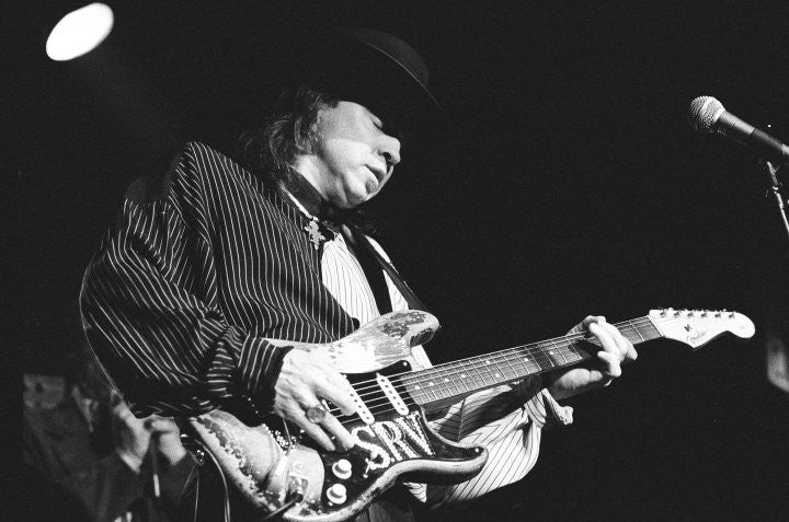 Stevie Ray Vaughan Live in Concert - Rich Saputo