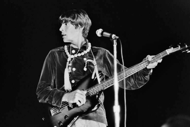 Davy Jones on Bass - Tom M Morton