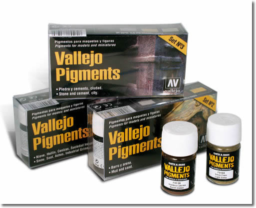 Vallejo Pigment Powder Range