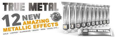 AK Interactive Metal Effects True Metals
