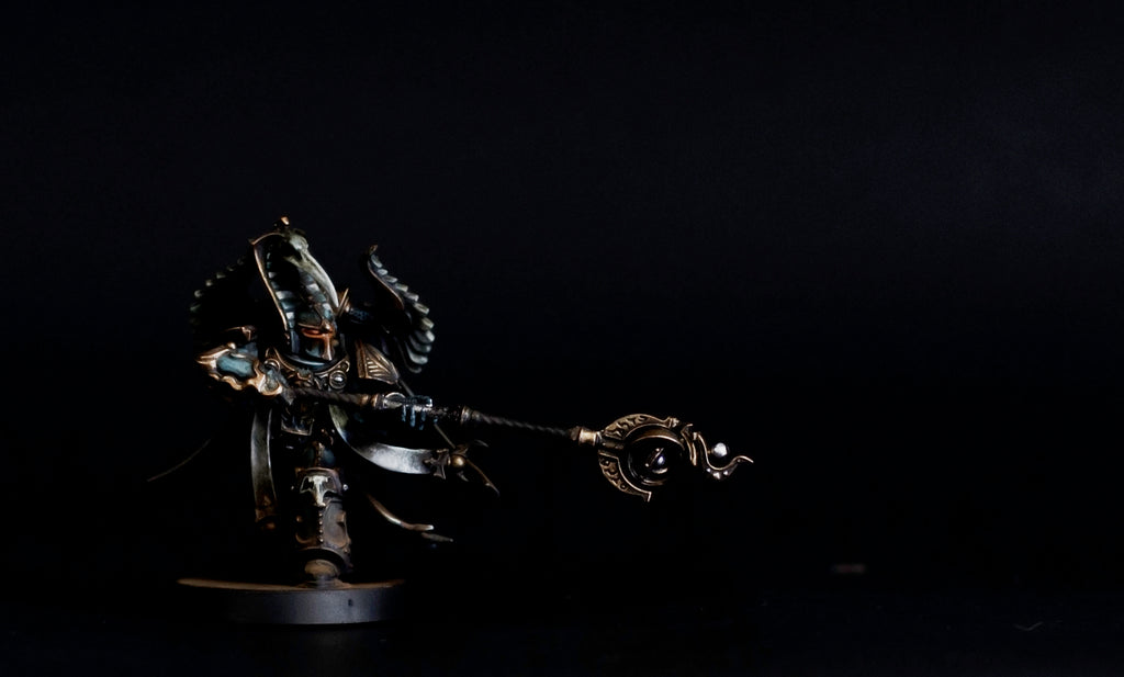 How to Paint: Thousand Sons Sorcerer