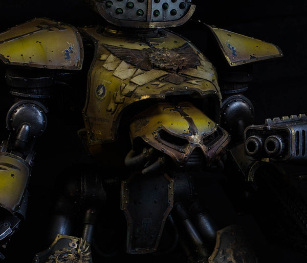 How to Paint: Legio Gryphonicus - Yellow Armor and Gold Trim with Basic Weathering