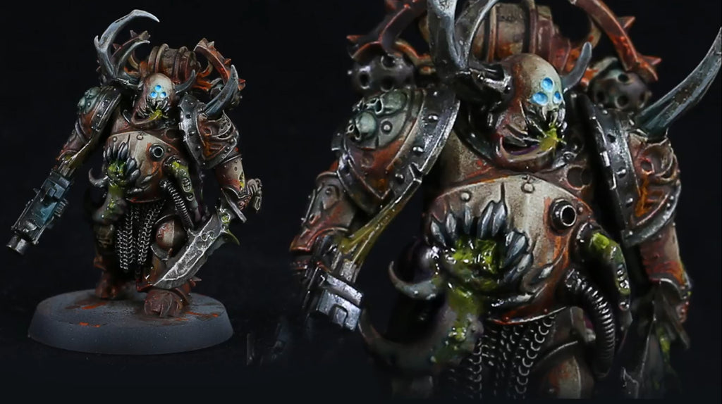 How to Paint: Death Guard Plague Marine
