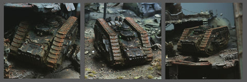 How to Paint: Grim Dark Black | Spartan Assault Tank
