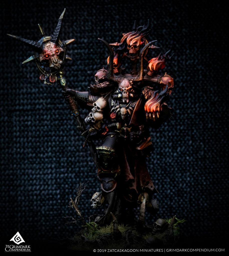 How to Paint: Black Legion - Master of Possession