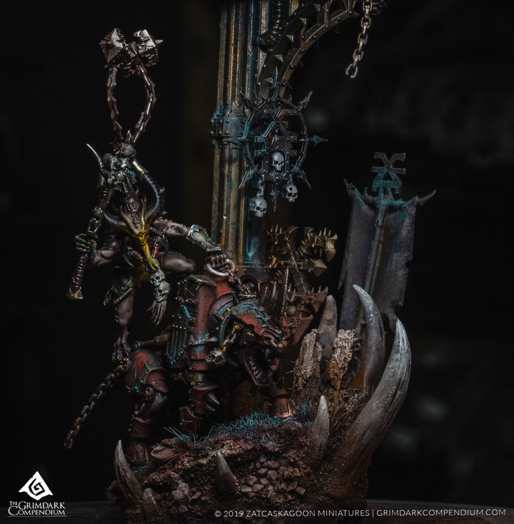 How to Paint: Daemons of Khorne Part Four of Four - Basing Guide