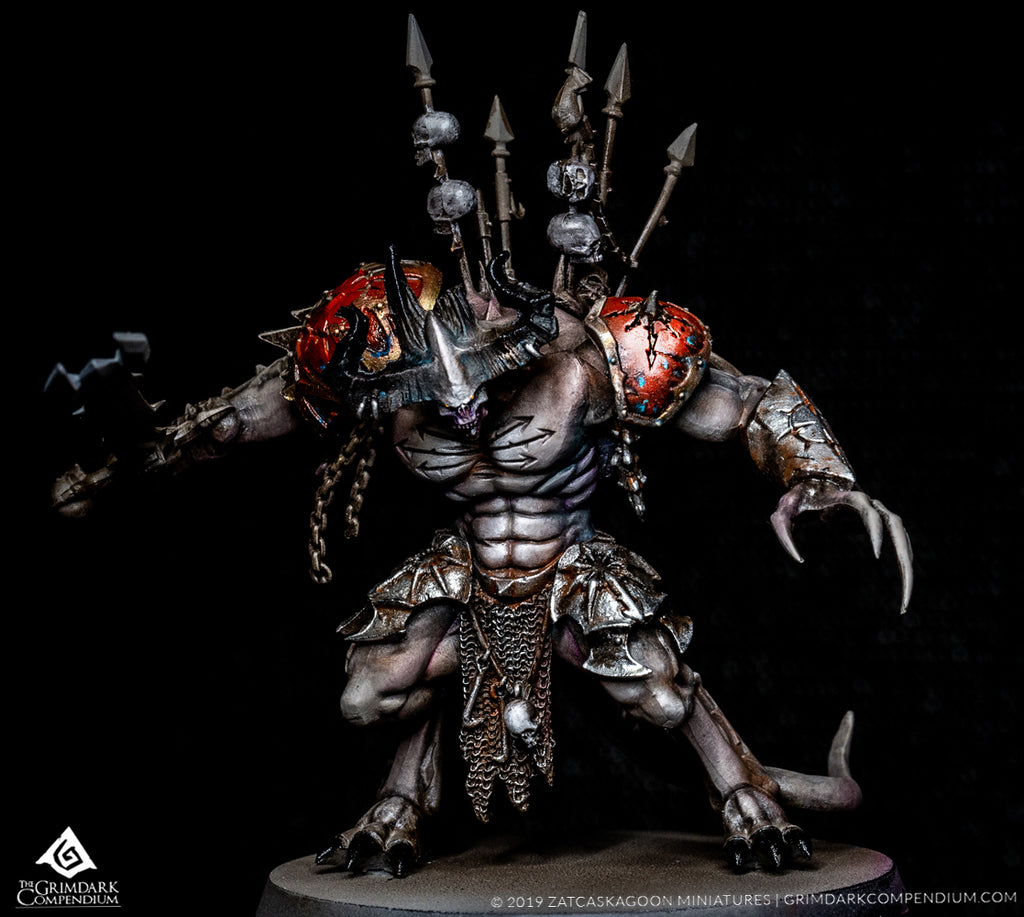 How to Paint: Daemons of Khorne Part Two of Four - Flesh Recipe