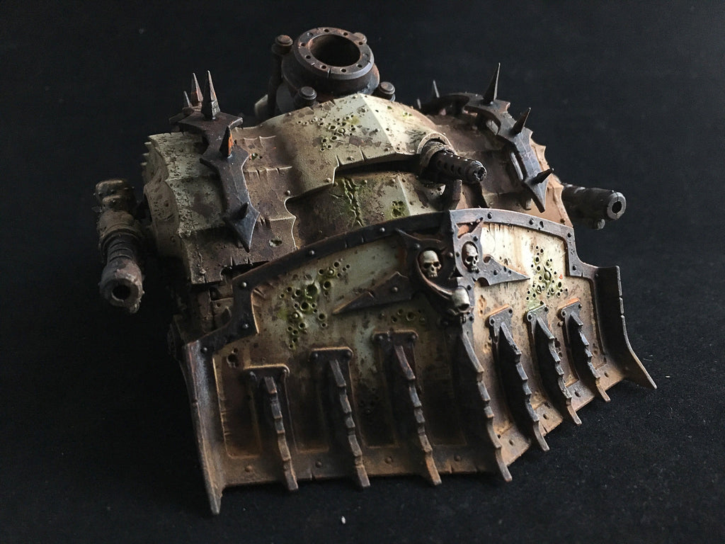 How to Paint: Death Guard Plagueburst Crawler