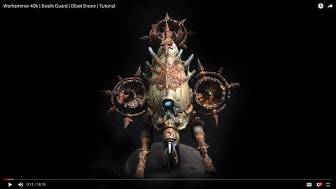 How to Paint: Death Guard Bloat Drone