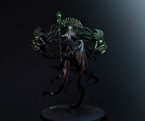 How to Paint: Nighthaunt's Lady Olynder