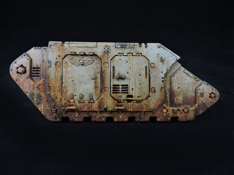 How to Paint: Death Guard Vehicles