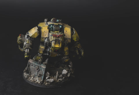 How to Paint: Imperial Fist Dreadnought