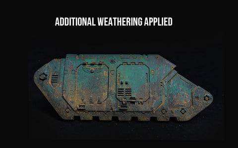 How to Paint: Salt Weathering Technique