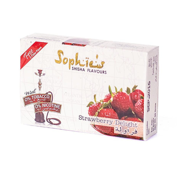 SOPHIES TOBACCO FREE MOLASSES STRAWBERRY DELIGHT