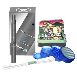 $55 GIFT PACK - ATMOS RAW SILVER, TIN, GRINDER, PIPE CLEANER - ONLINE ONLY