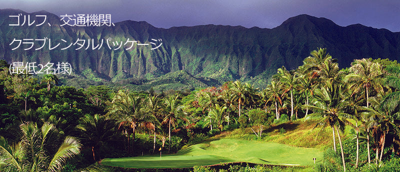 Oahu Golf with Transportation
