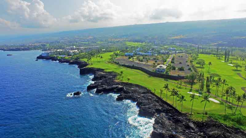 Kona Country Club hole 3 June 2015 Hawaii Tee Times