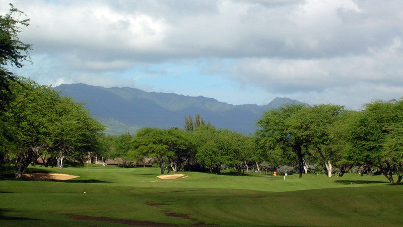 Ewa Beach Golf Club  Course with great mountain views