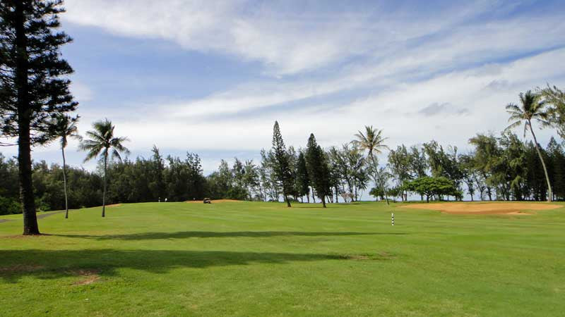 A perfect afternoon playing Turtle Bay Fazio Course