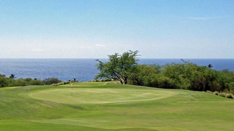 Ocean views from Hapuna Golf Course